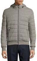 Ralph Lauren Long-Sleeve Quilted Hooded Jacket