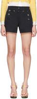 Dolce & Gabbana Navy Front Button Shorts