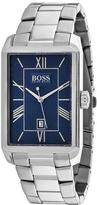 HUGO BOSS Classic 1513120 Men's Rectangle Silver Stainless Steel Watch