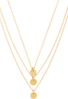 Gorjana 3 Disc Necklace