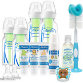 Dr Browns Blue Options Baby Bottle Deluxe Set