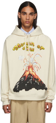 Gucci White Volcano Hoodie