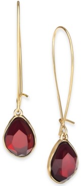 Style&Co. Style & Co Stone Linear Drop Earrings, Created for Macy's