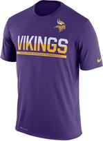 Nike Men's Minnesota Vikings Team Practice T-Shirt