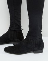 Hudson London Zelus Suede Chelsea Boots