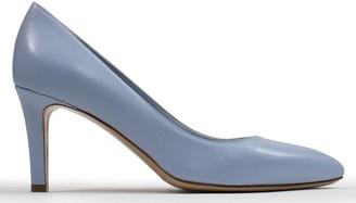 Calpierre Ladbroke Blue Leather Court Shoes