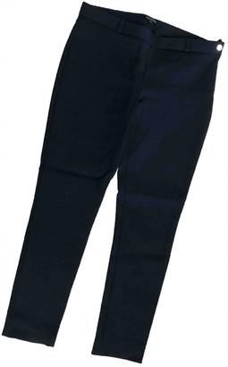 Tara Jarmon Blue Cotton Trousers for Women