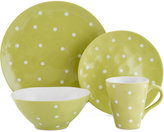Maxwell & Williams Sprinkle Lime 4-Piece Place Setting