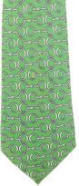 Hermes Horsebit Silk Tie