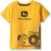 John Deere Little Boys' Construction Wrap T-Shirt