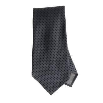 Emporio Armani Tie 7.5 Cm Tie In Micro Patterned Silk