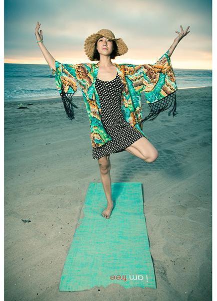 Affirmats I Am Free Yoga Mat