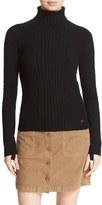 Tory Burch Women's 'Inez' Ribbed Turtleneck Sweater
