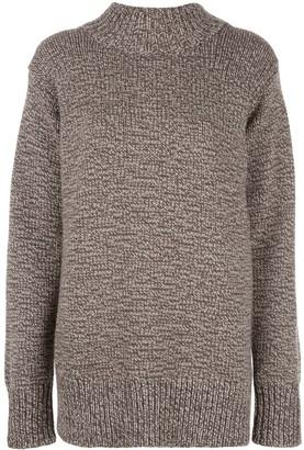 The Row oversize crew-neck cashmere sweater