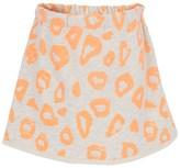 Noë & Zoe Berlin Leopard-Print Fleece Skirt