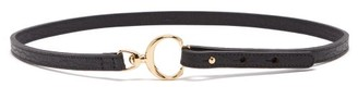 Chloé C-buckle Leather Belt - Black