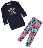 adidas Feather Crew Sweatshirt and Legging Set