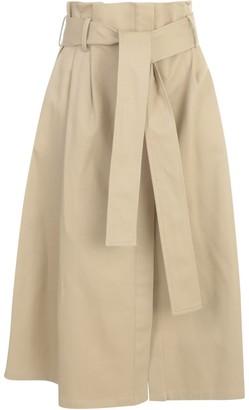 P.A.R.O.S.H. Wide Skirt W/belt