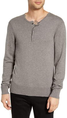 John Varvatos Provo Henley Sweater