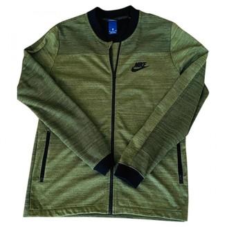 Nike Green Synthetic Knitwear & Sweatshirts