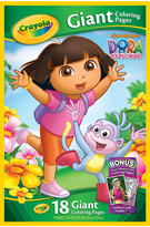 Dora the Explorer Giant Coloring Pages