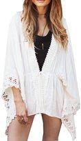 Canis Women Chiffon Kimono Cover Up (L)