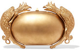 Valentino Metal-Trimmed Resin Clutch