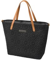 Petunia Pickle Bottom 'Downtown' Floral Embossed Diaper Tote (Special Edition has Goldtone Hardware)