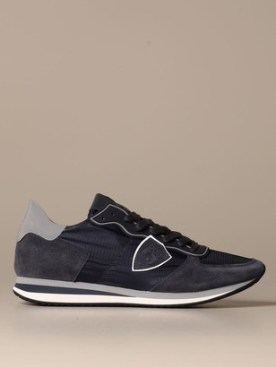 Philippe Model Sneakers Trpx Mondial Sneakers In Nylon And Suede