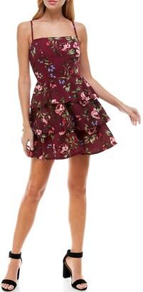 Rowa Tiered Strappy Dress