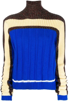 Plan C Panelled Knit Sweater