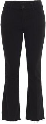 J Brand Selena Boot-Cut Cropped Jeans