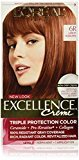 L'Oreal Excellence Creme, 6R Light Auburn, (Packaging May Vary)