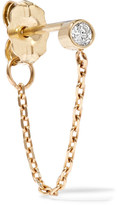 Catbird - Chained To My Heart 14-karat Gold Diamond Earring - one size