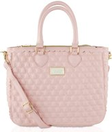 Betsey Johnson Scallop Triple Compartments Satchel Tote Bag
