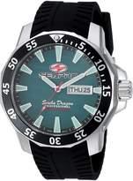 Seapro Men's 'Scuba Dragon Diver LTD' Quartz Stainless Steel Casual Watch, Color:Black (Model: SP8318)