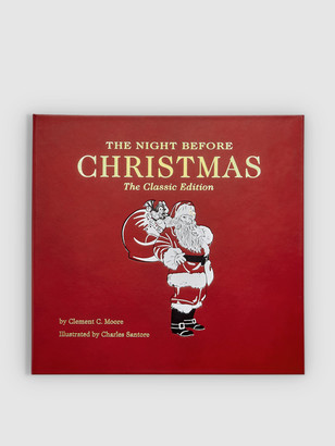 Graphic Image The Night Before Christmas Genuine Leather