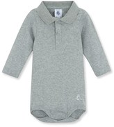 Petit Bateau Baby boys bodysuit with collar