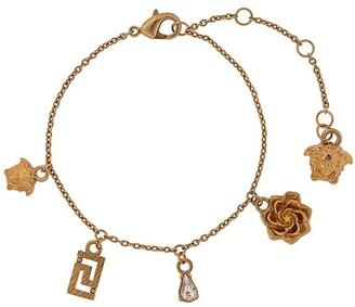 Versace Medusa charms bracelet