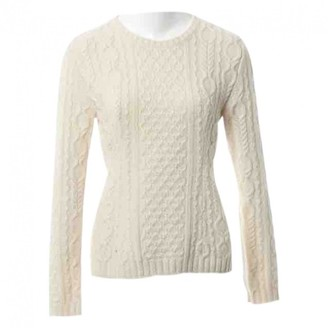 Christian Dior Ecru Wool Knitwear for Women