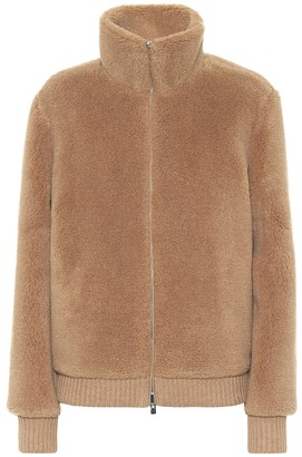 Loro Piana Reversible cashmere and silk bomber jacket