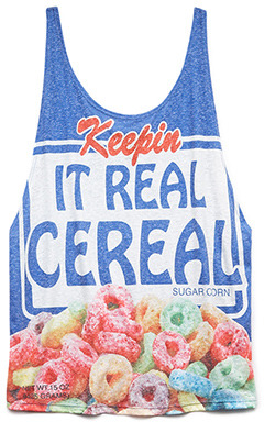 Forever 21 Real Cereal Tank