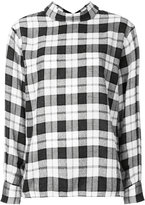 ASTRAET plaid reverse shirt