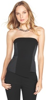 White House Black Market Asymmetrical Hem Bustier