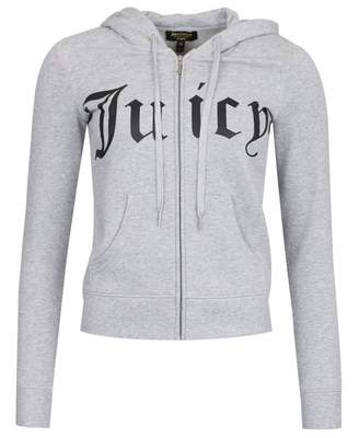 Juicy Couture Robertson Gothic Logo Jacket Colour: SILVER LINING, Size