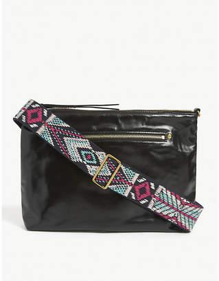 Isabel Marant Nessah leather cross-body bag