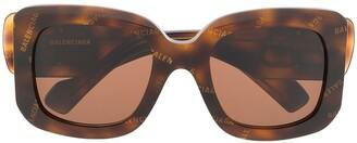 Balenciaga Paris D frame sunglasses