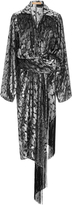 Michael Kors Velvet Wrap Dress