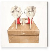 Oliver Gal Wedbliss Shoes Canvas Wall Art