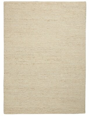Calvin Klein Handmade Hand-Knotted Jute/ Sisal Wool Neutral Area Rug Rug Size: Rectangle 8 'x 10'